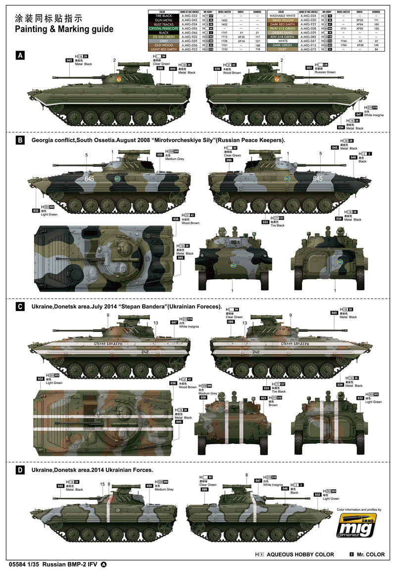 Russian bmp 2 ifv 05584 135 series trumpeterchina publicscrutiny Choice Image