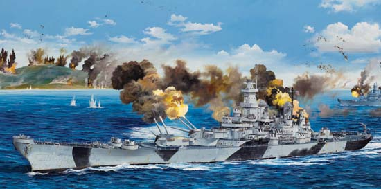 USS Iowa BB-61  03706