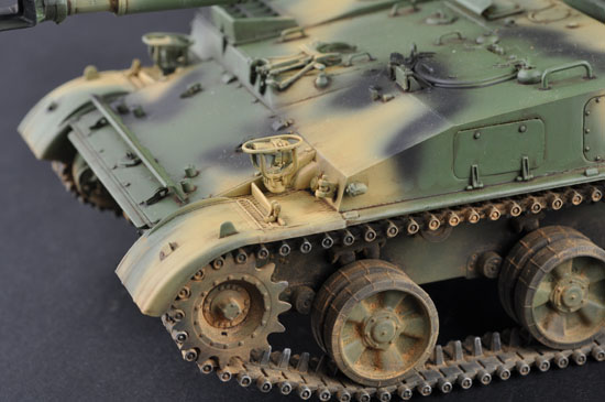 Ship A Car >> Soviet 2S3 152mm Self-Propeller Howitzer - Early Version 05543-1/35 Series-TRUMPETER(china)