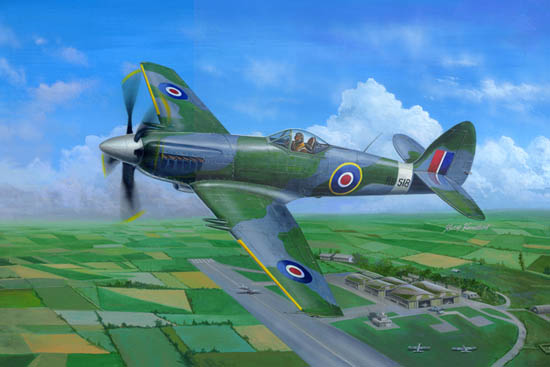 Supermarine Spiteful F.MK.14 Fighter     02850