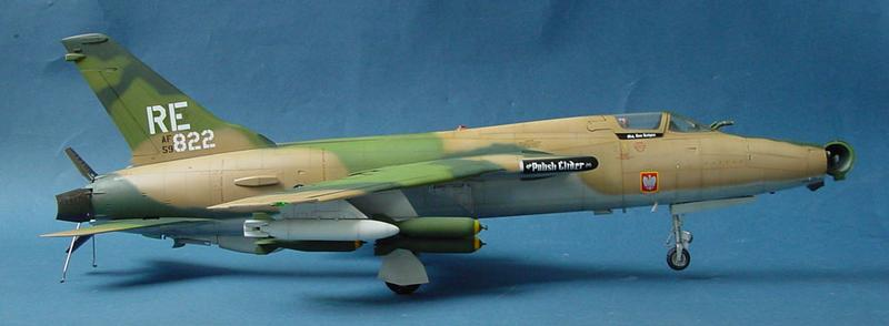 Republic F 105d Thunderchief 02201 1 32 Series Trumpeter China