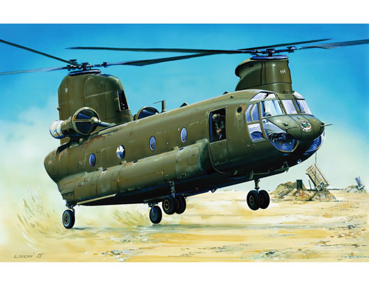 "CH-47D ""CHINOOK""    01622"