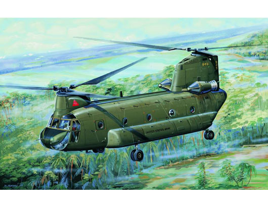 CH-47A Chinook medium-lift helicopter     01621