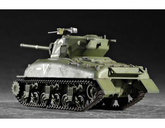 Tanque en Miniatura 76 W Tank Trumpeter 07222 M4A1 Escala 1:72