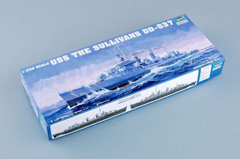 Trumpeter 1//350 05304 USS The Sullivans DD-537