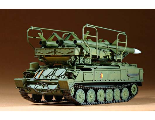Russia Sam 6 Antiaircraft Missile 00361 1 35 Series