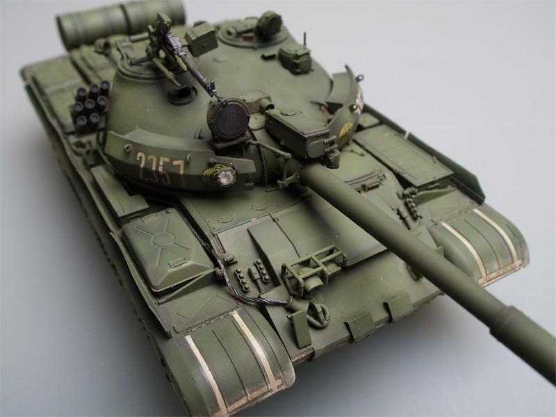 1984 Trumpeter 01554-1:35 Russian T-62 BDD Mod Neu