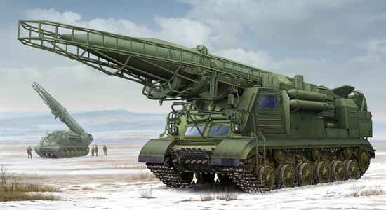 Ex-Soviet 2P19 Launcher w/R-17 Missile(SS-1C SCUD B)of 8K14 Missile System 01024