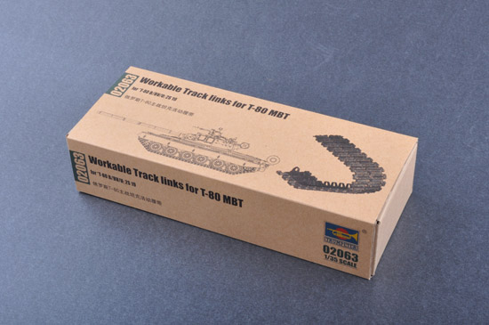 Workable Track links for T-80 MBT  02063