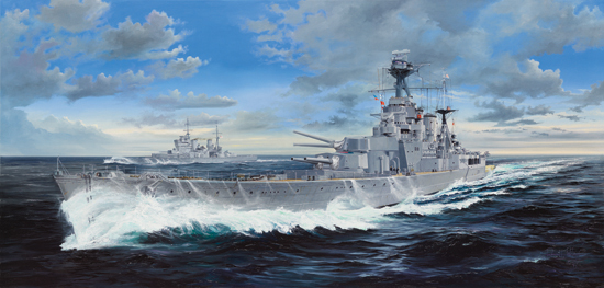 HMS Hood Battle Cruiser 03710
