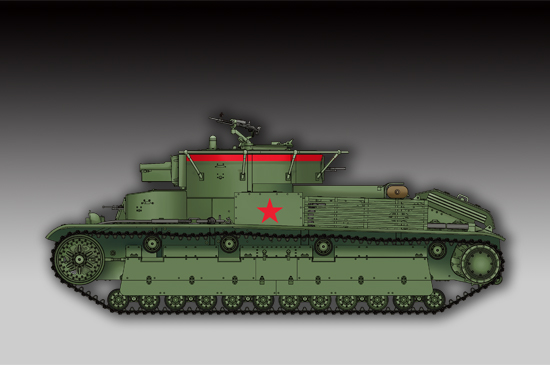 Soviet T-28 Medium Tank (Welded) 07150