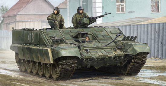 Russian BMO-T specialized heavy armored personnel carrier 09549