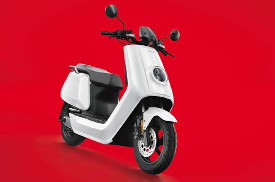 NIU E-SCOOTER N1S - Pre-Painted (white version) 07305