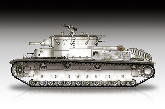 Soviet T-28 Medium Tank (Riveted) 07151