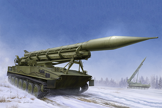 2P16 Launcher with Missile of 2k6 Luna (FROG-5) 09545