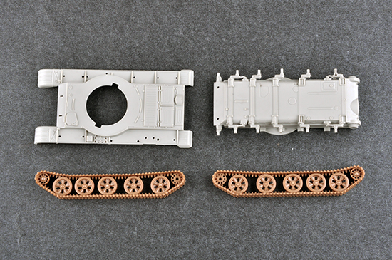 Neu Trumpeter 07148-1:72 Russian T-62 BDD Mod.1984 Mod.1972 modification