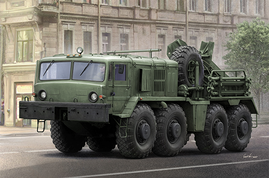 KET-T Recovery Vehicle based on the MAZ-537 Heavy Truck 01079